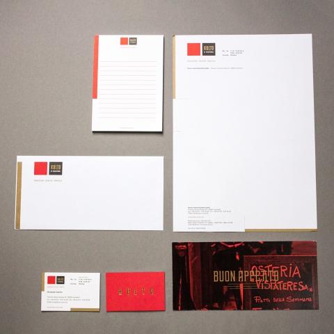 KULTO E CUCINA buntestun corporate design