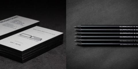 DB Raumausstattung Visitenkarte & Bleistifte